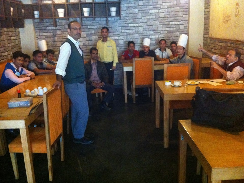Consulting & Training a leading bakery in noida